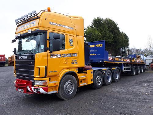 Flickriver: Irish Cranes & Heavy Haulage pool