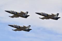 Breitling Jet Team at Kleine Brogel (Spaak) Tags: breitling jet team aerobatics aerobaticteam aero l39 airplane aircraft vliegtuig straaljager kleinebrogel 2018 belgian air force days