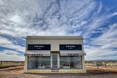 Prada Marfa [Explore] (Ray Chiarello) Tags: prada marfa art store desert southwest valentine texas sky clouds canon5dmarkiii canonef1635mmf4lisusm