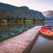 El Embarcadero (jcasas_10) Tags: pirineos lago pantanodelatorrasa calma barcas pescadores trucha amanecer nikon d750 españa spain cataluña agua longexposure