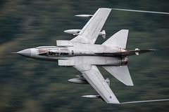 'Sticker Tail' (benstaceyphotography) Tags: flight aircraft nikonuk lfa7 046 za554 mightyfin bombbus motionblur speed marham gr4 tornado panavia marham27 benstacey aviation royalairforce raf