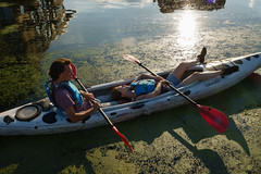 Hackney, London (jaumescar) Tags: boat people couple leisure fun sport kayak green canal london river sunny hackney relaxing lazy tired streetphotography