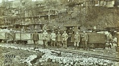 German narrow gauge Ry north of Varennes on Argonne, Meuse German Negative ca1914 NARA111-SC-37526-ac (over 14 MILLION views Thanks) Tags: germanarmy ww1 worldwari france 19141918