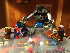 I Am A Shark (Lord Allo) Tags: lego dc suicide squad king shark new 52 deadshot harley quinn black spider el diablo