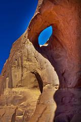 Eye of the Sun, Monument Valley, Arizona (klauslang99) Tags: klauslang nature naturalworld northamerica monument valley eye sun rock navajo sky abstract arizona