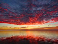 112418am (sunlight_hunt) Tags: texasgulfcoast texassunrisesunset texassky matagordabay sunlight sunrisesunset