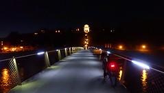 nightride Laufen/Oberndorf (Automatikman) Tags: 20122018 0415mw bike biketour salzburg salzburgerland austria österreich bayern deutschland germany nacht night moon mond salzach stevens pcarpo tour