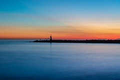 Time to go (arthur.harrow) Tags: marbella spain lighthouse costadelsol morocco espana andalucia sunsets puertodeportivodecabopino sea cabopino gibraltar playacabopino 2018