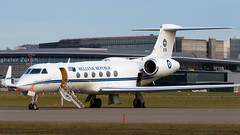Gulfstream Aerospace G-V 678 Hellenic Air Force (William Musculus) Tags: airport airliner airliners airplane plane aviation spotting zrhlszhzurichklotenairportspotting 678 hellenic air force gulfstream aerospace gv v g5 g550 william musculus
