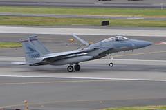 United States Air Force (Oregon Air National Guard) - McDonnell Douglas F-15C Eagle - USAF 84-0005 - Portland International Airport (PDX) - June 3, 2015 4 201 RT CRP (TVL1970) Tags: nikon nikond90 d90 nikongp1 gp1 geotagged nikkor70300mmvr 70300mmvr aviation airplane aircraft militaryaviation portlandinternationalairport portlandinternational portlandairport portland pdx kpdx usaf840005 af840005 840005 unitedstatesairforce usairforce usaf oregonairnationalguard oregonang orang airnationalguard ang 123rdfightersquadron 123dfightersquadron 123fs 123rdfs 123dfs 142ndfighterwing 142dfighterwing 142ndfw 142dfw 142fw boeing mcdonnelldouglas mcdonnelldouglasf15eagle boeingf15eagle mcdonnelldouglasf15ceagle boeingf15ceagle f15eagle f15ceagle eagle f15 f15c prattwhitney pw prattwhitneyf100 f100 pwf100 prattwhitneyf100pw220 f100pw220 speedbrake tiresmoke