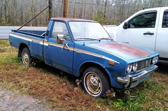 Toyota pickup RN/20 (Dave* Seven One) Tags: toyota pickup truck compact japan import 1970s classic vintage rusty rust junk salvage broken used forgotten abandoned n20 rn20 toyotapickup
