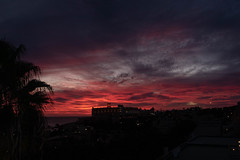 Playa del Matorral (cancom) Tags: fuerteventura spanien jandia abendhimmel sunsetsky