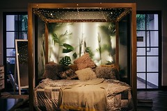WELCOME TO THE JUNGLE! What a wild , outdoor style bedroom design.  #bedroomdesign #bedroomdecor #bedding #bed #bedroomdecor #bedding #bedroomdesign #homeinterior #mebel #homedecoration #sofa #girlsroom #bedcover #interior #bedroom #livingroom #homedecor (CoolHomeStyling) Tags: instagram ifttt