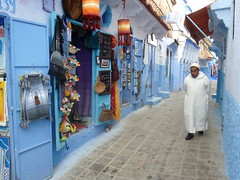 The fabled 'blue town' of Chefchaouen.JPG (Traveloscopy) Tags: pr travel morocco tours