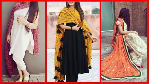 Beautiful Plain Suit Designs 2018 Latest Punjabi Suit Contrast Dupatta Suit A Photo On Flickriver Banarasi dupattas, as the name suggests, originates from varanasi, up kalamkari design depicts our culture and heritage like nothing else. beautiful plain suit designs 2018