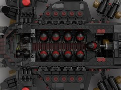 n75 thompson transport gunship (battleship) inside (demitriusgaouette9991) Tags: lego ldd military army armored powerful deadly destroyer gunner whitebackground pilot cockpit