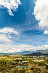 Vista panorámica hacia Santa Sofía // Boyacá // Colombia (Peter Lievano) Tags: green boyacá boyaca colombia landscape paisaje montañas valles montains blue sky cielo clouds nubes