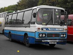 45, RSX 501M, Bedford YRQ, Duple Dominant C45F, 1974 (t.2018) (Andy Reeve-Smith) Tags: bedford gm generalmotors dominant 45 rsx501m yrq duple coach showbus 2018 showbus2018 doningtonpark donington castledonington derbyshire derbys leicestershire leics