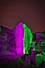 _0PC8236AP (pcartermiet) Tags: rocks lightpainting night landscape outdoors cowandcalf ilkley nikon d810 quarry sky rock grass stars