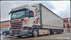 Scania R410 Streamline (Mushu 7) Tags: truck tir scania sweden sodertalje kingoftheroad schmitz trucktrailer electromagnetica euro6 highline