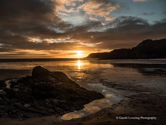 Sunset over Caswell Bay 2019 01 25 #36 (Gareth Lovering Photography 5,000,061) Tags: sunset sun sunny sunshine caswell gowercoast gower swansea wales seaside landscape beach walescostalpath olympus penf garethloveringphotography