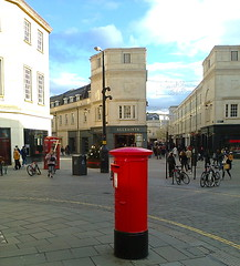 photo2515 (southglosguytwo) Tags: 2018 bath buildings november sky variouspeople shops postbox pillarbox citycentre cameraphonephoto