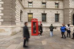 The Tourist Booths (aFieW Photography) Tags: approved telephone booth westminster red tourist famous britain uk england london people walking street posing
