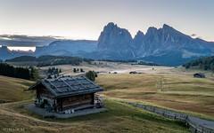 Prior Sunrise (Wim Air) Tags: seiser alm seis valley italy dolomites wimairat wimair sunrise