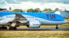 TUI | G-TUIJ | Boeing 787-9 | BGI (Terris Scott Photography) Tags: aircraft airplane aviation plane spotting nikon d750 f28 travel barbados jet jetliner tui fly 7879 tamron 70200mm di vc usd g2