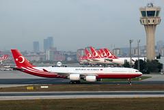 Turkish Government A340-500 'TC-CAN' (Longreach - Jonathan McDonnell) Tags: istanbul istanbulatatürkairport istanbulatatürkhavalimanı airbus tccan turkishgovernment republicofturkey dsc5352 vip a340500