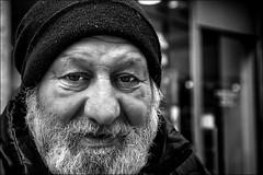 La rue au fond des yeux - Steet in his eyes (vedebe) Tags: portraits portrait rue street ville city noiretblanc netb nb bw monochrome urbain urban homme humain human people