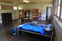Typical cabin dorm