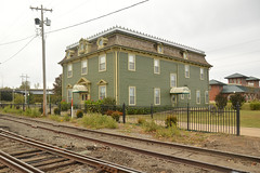 """Last of """"The Row"""" (radargeek) Tags: fortsmith ar arkansas october 2017 bordello houseofprostitution visitorcenter nationalregisterofhistoricplaces misslaurassocialclub misslauras therow railroad houseofillrepute architecture downtown"""