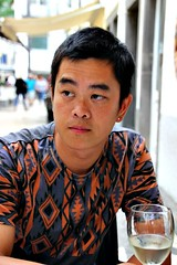 Waiting for lunch (Peter Denton) Tags: lianglu partner husband man guy male portrait ©peterdenton canoneos100d