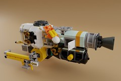 AFOL Designer Entry (ORION_brick) Tags: lego afol design bricklink program mecabricks render space spaceship play