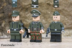 Commision (caps) for picklefinn (Forestmän) Tags: lego ww2 wwii war ss waffen caps commision custom painted