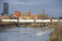 Lumber (Michael Berry Railfan) Tags: cn canadiannational cnx324 train freighttrain lachinecanal sthenri montreal montrealsub quebec