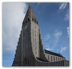 Hallgrímskirkja-Kirche (Körnchen59) Tags: hallgrímskirkja kirche church architektur reykjavik island körnchen59 elke körner sony 5000