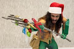 18-12-08_FanDays-52 (kookabrophoto) Tags: cosplay christmas fandays aquaman trident santa hat ornaments dc