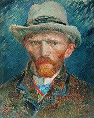 Self-portrait (1887) by Vincent Van Gogh. Original from The Rijksmuseum. Digitally enhanced by rawpixel. (Free Public Domain Illustrations by rawpixel) Tags: 1887 tags antique art artwork beard coat dutch famous fineart gentleman hat illustrated illustration lapel man moustache netherlands oilpainting old overcoat painted painting person portrait postimpressionism redbeard rijksmuseum self selfportrait vangogh vincent vincentvangogh vintage wallart