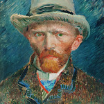 Self-portrait (1887) by Vincent Van Gogh. Original from The Rijksmuseum. Digitally enhanced by rawpixel. thumbnail