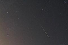 Christmas Comet, Study #1, 2018 (strollingshuttereyes) Tags: stars pleiades orion dusk twilight constellations constellation stackedimages longexposure minnesotaastronomicalsociety minnesota fallingstar shootingstar nighttime nightsky alphaa6000 sony astrophotography astronomy christmascomet meteor comet