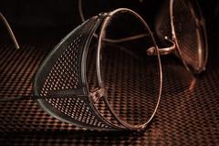 Vintage Safety Glasses (Jack Heald) Tags: vintage safety glasses macro macromondays vision caution heald jack 60mm nikon micro