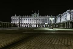 Explanada del Palacio Real. Madrid (ninestad) Tags: palacioreal madrid explanada arquitectura nocturna palace royal night