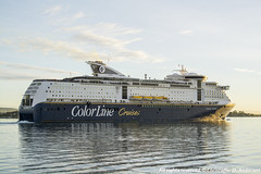 Color Magic (341) (Christoffer Andersen) Tags: colorline colormagic colorlinecruises portofoslo oslo oslofjorden cruiseferry ferry carferry shipspotting