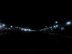 Night view of a railway station (abdullahalmamun.aa201) Tags: night view railway station ambipu am bipu rail bd samsung galaxy a5 2017