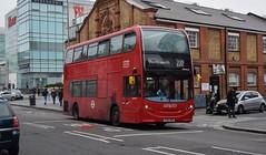 ADE40463 RATP (KLTP17) Tags: ade40463 220 adl enviro400 ratp london bus yx62bmy rp londonunited