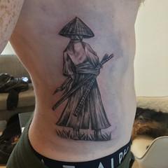 samurai design (aya@laperranegra) Tags: thanks for coming again 2nd tattoo from me samurai design by tokyo tokio japantrip traveljapan tatuaje tatuagem samuraitattoo tattoodesign japan japanesetattoo harajuku shibuya tattoostudio originaldesign ronin 原宿 渋谷 タトゥー 東京