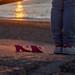 transparence (patrick Thiaudiere, thanks for + 2 millions views) Tags: chaussures escarpins shoes light lumière plage beach sea mer atlantic atlantique ocean coucherdesoleil attendre findujour soleil sun endoftheday stjeandeluz streetview