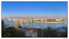 Pano de Budapest (© Marco Antonio Soler ) Tags: jpg hdr iso iphone 8 plus panoramica de budapest hungria hungary panorama vistas views landscape rio river danubio danube 2019 19